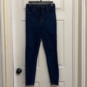 American eagle super high rise jeans